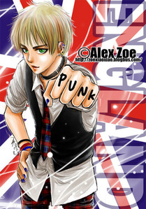 Some punk!England from Hetalia! :D