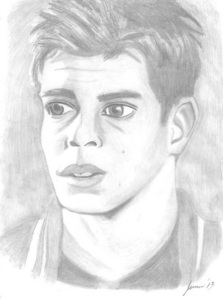 My sketch of Matthew Lawrence from The Hot Chick movie, I did a few days ago.