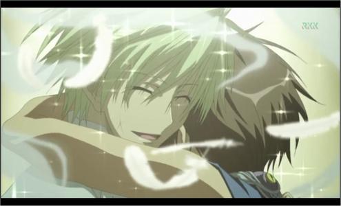Mikage sacrificed himself for Teito