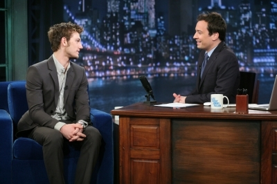 Alex on Late Night with Jimmy Fallon
