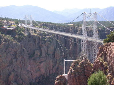 bungee jumping from the royal gorge bridge