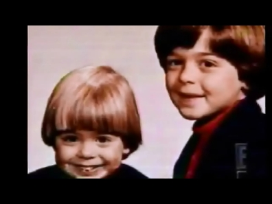 Matthew and his brother, Joey at a young age :)