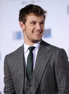 Alex in a three piece suit