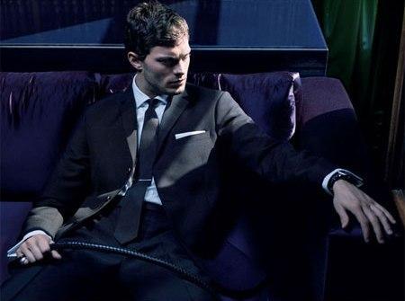 Jamie Dornan channeling his inner Christian Grey<3