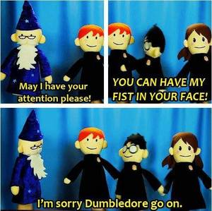 Enjoy the Potter Puppet Pals.