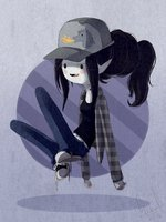 Here is My お気に入り Character Marceline