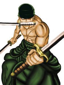 Zoro from One Piece.