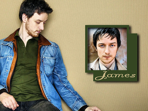There is something about James McAvoy that I have come to appreciate :)