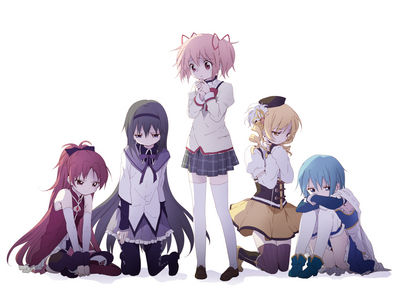 Well, the list could go on and on, since I'm not really into that gushy-mushy stuff, but I'm too damn lazy, so the first one from the topo, início of my head is... Puella Magi Madoka Magica. Again, I'm lazy to describe it or whatever, but even though it's genre is 'Magic', it's pretty sad and dark. Personally, I very much enjoyed it ;)