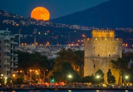 my beautiful city, magical Thessaloniki