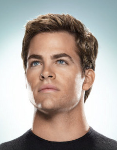 Chris Pine,who is #10 on my 最佳, 返回页首 10 hotties
