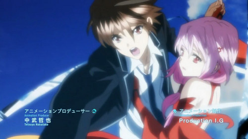 anda can try Guilty Crown ^^ atau even Pandora Hearts, but I think anda can like lebih Guilty Crown ^^ Hope to has been helpful, bye ^^ This is a pic from Guilty Crown ^^