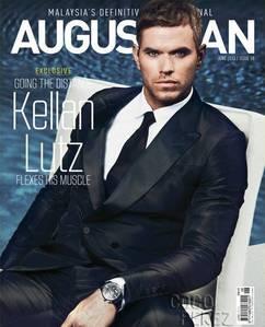 Twilight hottie,Kellan Lutz wearing a watch<3