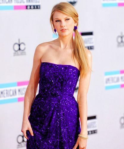Taylor Swift Purple Dress