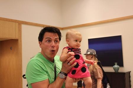 John would make a great Dad!