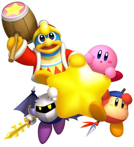 Kirby,Meta Knight,King Dedede,and Waddle Dee!!!