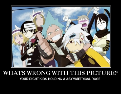 DEATH THE KID AND SOUL EVANS FROM SOUL EATER DEFINETLEY, IM IN LUV WIT THERE VOICES AS WELL AS THEM Soul- white haired boy Kid- raven hairecboy tht has 3 wite stripes in it