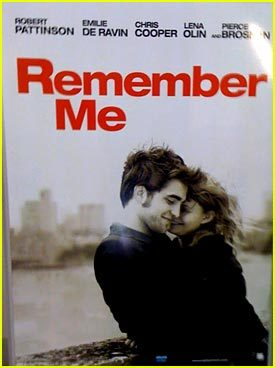 my sexy hottie Robert on the Remember Me poster<3