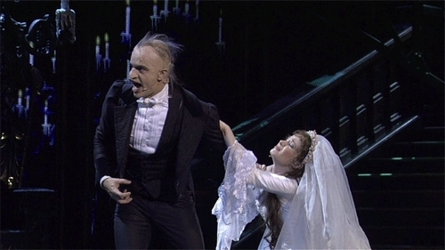 This is mine. It's from [i]Phantom of the Opera: 25th Anniversary[/i] during the song [i]Final Lair[/i].