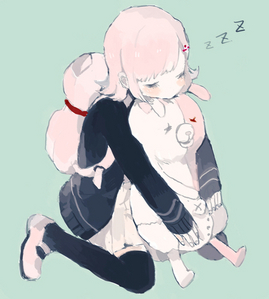 A character who sleeps a lot? Well, then I have to post Nanami Chiaki from Super Dangan Ronpa 2!