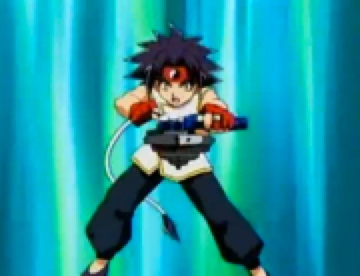 It was most likely straal, ray from the english dub of Beyblade. Of course, now he has been replaced since I'm not as big of a fan of Beyblade as I was when I was little.