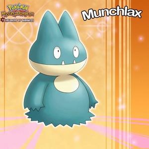 Munchlax from Pokemon