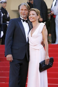 Mads Mikkelsen and his wife Hanne Jacobsen <3