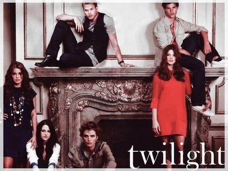 a Twilight cast ছবি with Robert,Kristen,Nikki,Kellan,Taylor and Ashley<3