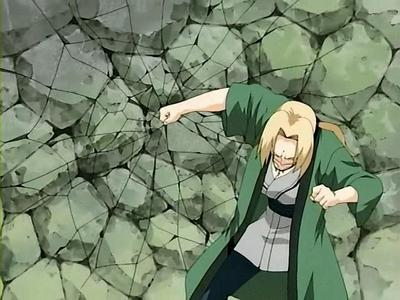 Lady Tsunade. 'She's strong... and scary.' - Kabuto Yakushi. XP