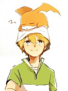 Takeru Takaishi (T.K) from Digimon XD