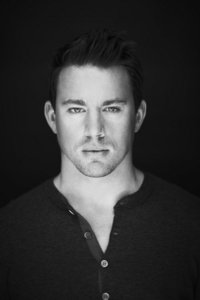 Channing Tatum with shadows on his face <3