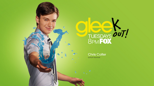 Chris Colfer stars on Glee,but I don't watch it