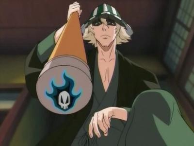 Kisuke Urahara (Bleach) he is my fav fav fav fav anime character ever...my icoon & my gebruikersnaam is the proof......he he eh eh eh