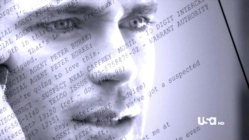 """Matt as Neal Caffrey in a casquette, cap from """"Free Fall"""" <3333"""