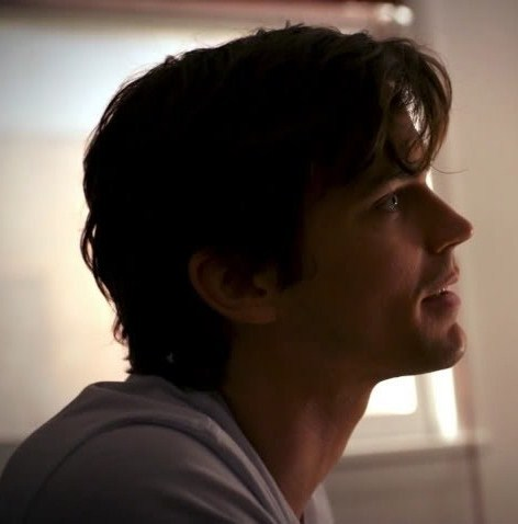 """A younger Neal Caffrey from the side in """"Forging Bonds"""""""