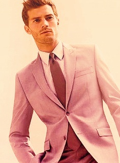 the sexy Jamie wearing a suit with buttons<3