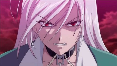 Maybe Rosario + Vampire,it has a puñetazo, ponche of girls protecting the guy If tu can handle alittle echi youll be ok