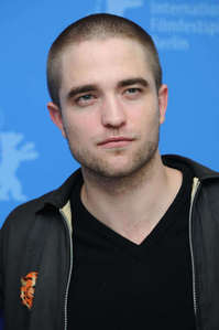 my beautiful babe Robert with a shaved head<3