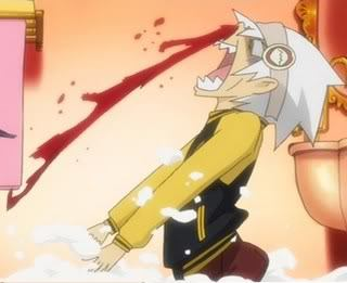 Soul getting a nosebleed because of Blair;D