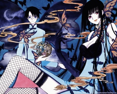 XXXHolic is somewhere along the lines of the girl protecting the guy