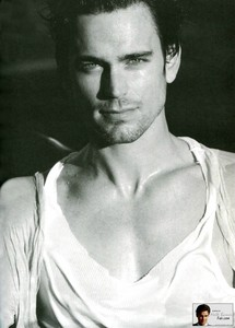 Matt Bomer looking gorgeous in white!