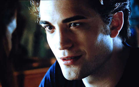 my fave vampire Edward with a slight smile<3