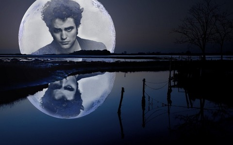 my handsome man in the moon<3