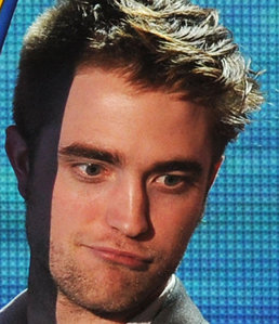 my gorgeous Robert with a cute facial expression<3