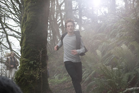my gorgeous Robward in a forest full of trees<3