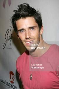 Brandon Beemer wearing pink <3