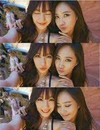 I think Yuri and Tiffany because they spend time together when they are MC's in âm nhạc Core era <3