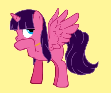 I'll have to think about it. (That's me as a pony, BTW)