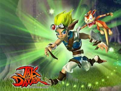 These guys were my childhood ^.^ Jak and Daxter baby!