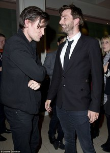 Matt Smith and David Tennant!